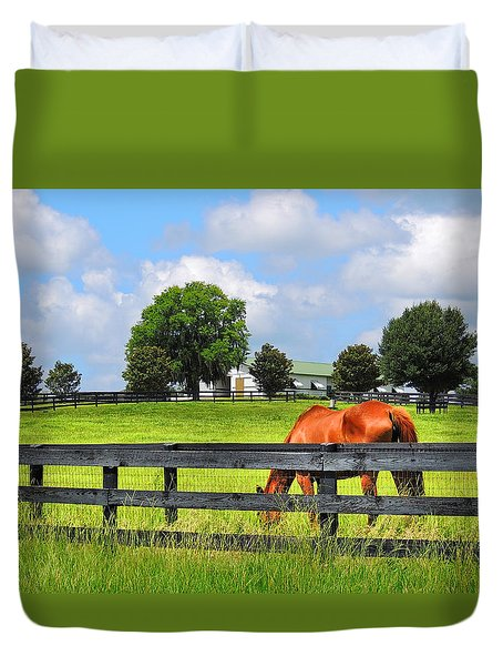 Breeding Beauties Duvet Cover