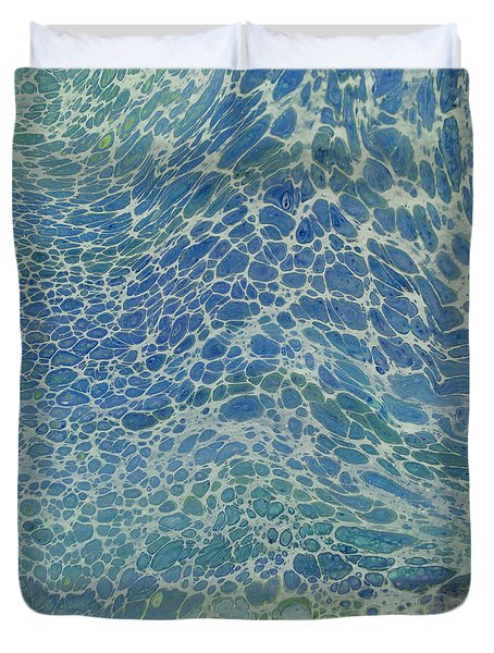 Breeze On Ocean Waves Duvet Cover