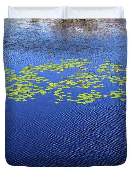 Breeze On The Water  Duvet Cover