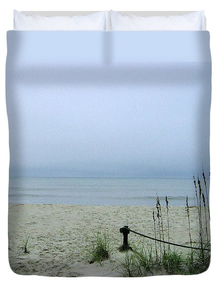 Breezy Day By Seacoast Duvet Cover by Skyler Tipton