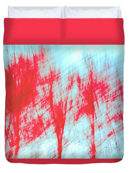 Duvet Cover featuring the photograph Breezy Moment by Ari Salmela