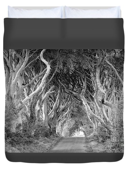 Bregagh Road Duvet Cover by Juergen Klust