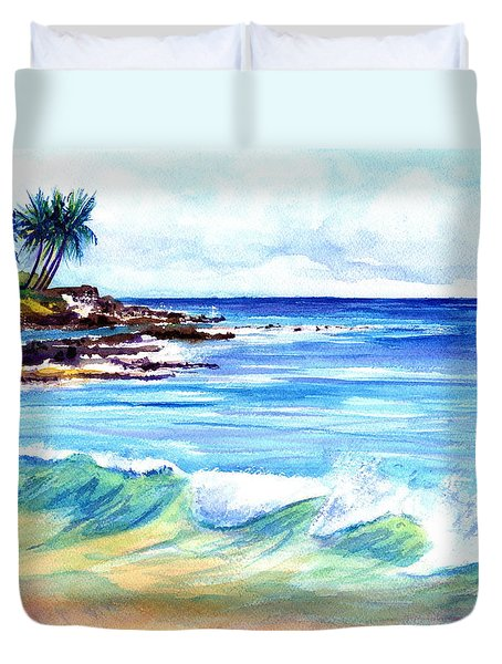 Brennecke's Beach Duvet Cover by Marionette Taboniar