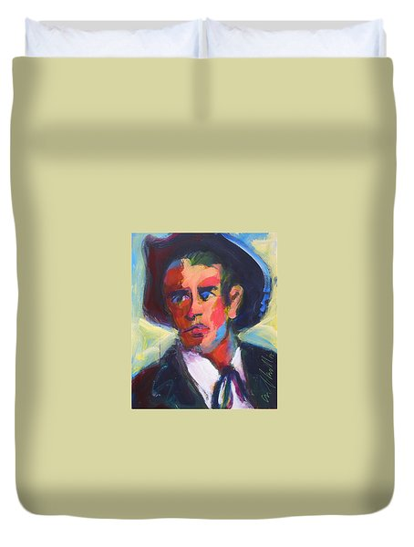 Bret Maverick Duvet Cover