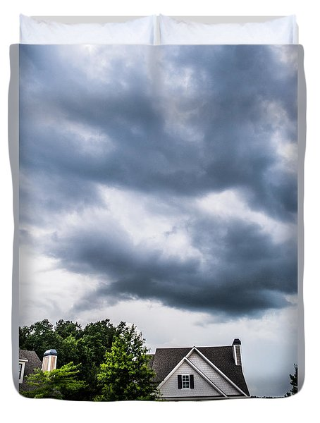 Brewing Clouds Duvet Cover