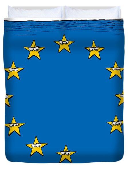 Brexit Eu Flag  Duvet Cover