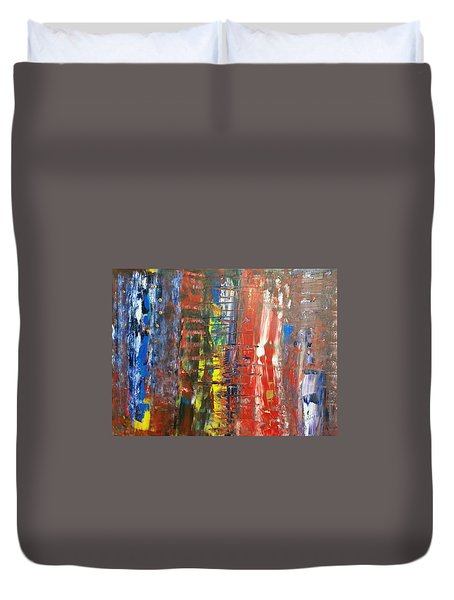 Brexzit  Duvet Cover by Piety Dsilva