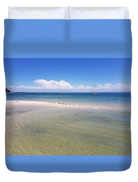 Bribie Waters Duvet Cover