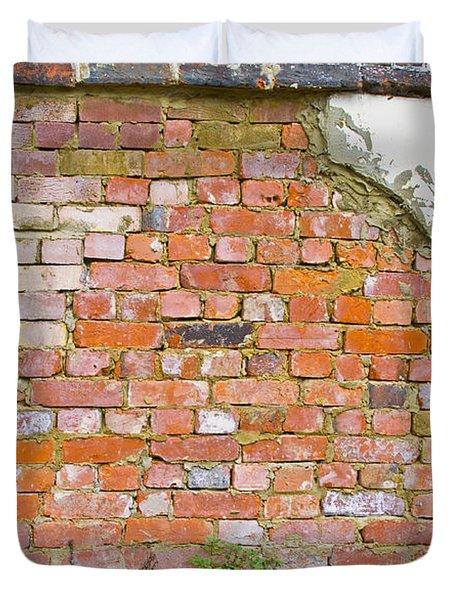 Brick And Mortar Duvet Cover