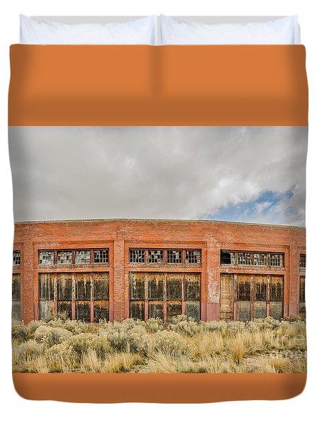 Brick Roundhouse Duvet Cover