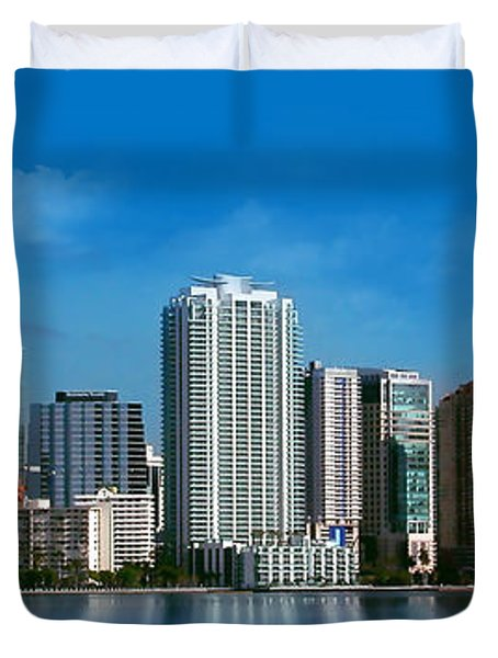Brickell Skyline 1 Duvet Cover