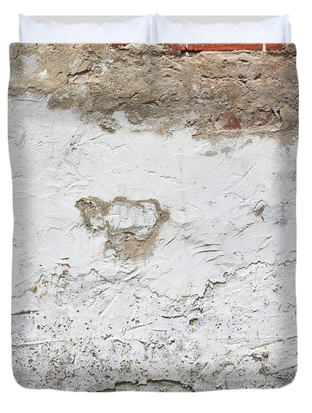 Duvet Cover featuring the photograph Brickwork 05 by Greg Jackson