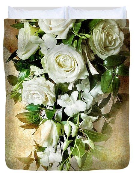 Bridal Bouquet Duvet Cover