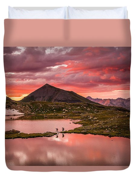 Bridal Veil Basin 2 Duvet Cover