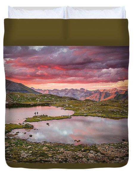 Bridal Veil Basin Duvet Cover