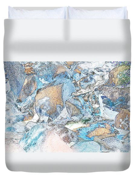 Bridal Veil Fall Duvet Cover