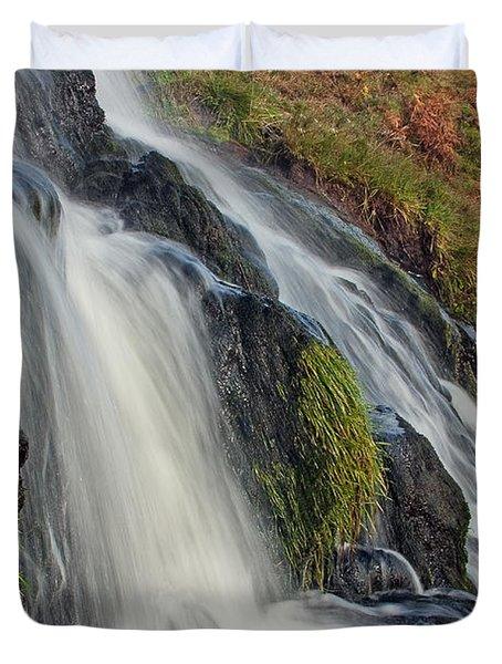 Bridal Veil Falls Duvet Cover