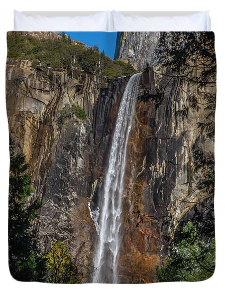 Bridal Veil Falls - My Original View Duvet Cover