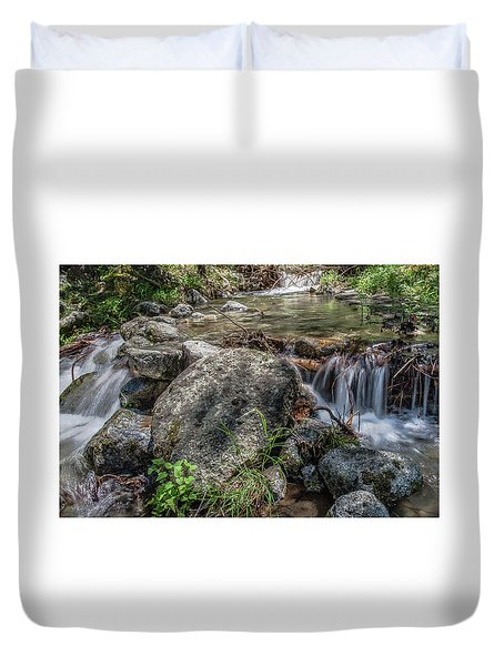 Bridalveil Creek Duvet Cover