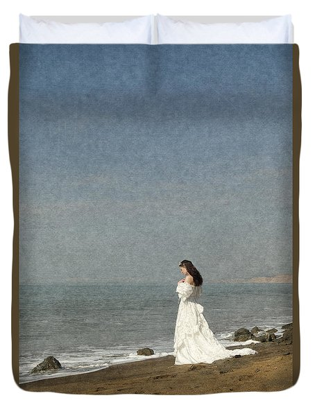 Bride By The Sea Duvet Cover