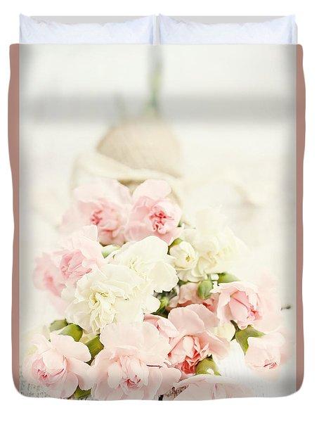 Brides Bouquet Duvet Cover