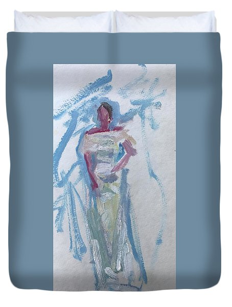 Bridesmaid 2 Duvet Cover by Carol Berning