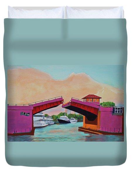 Bridge At Se 3rd Duvet Cover