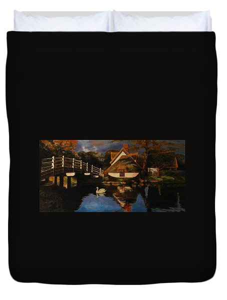 Bridge Cottage Duvet Cover