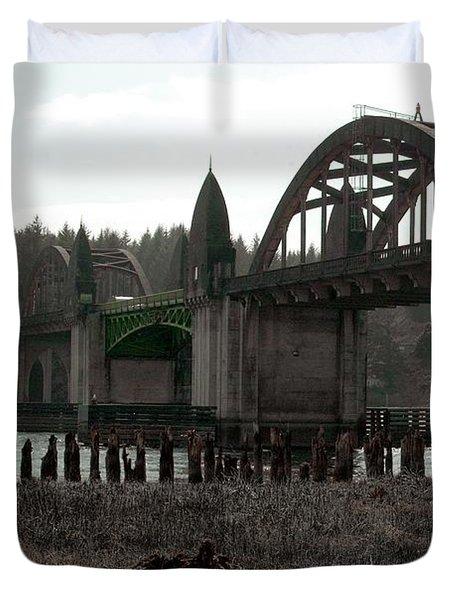 Bridge Deco Duvet Cover