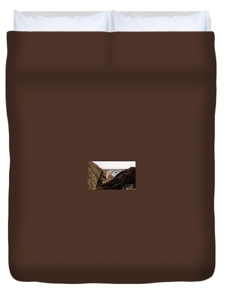 Bridge Highway 1 Coastal Road Duvet Cover