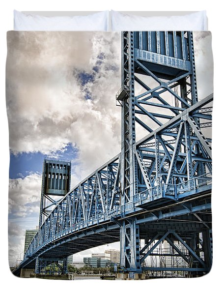 Bridge Of Blues II Duvet Cover