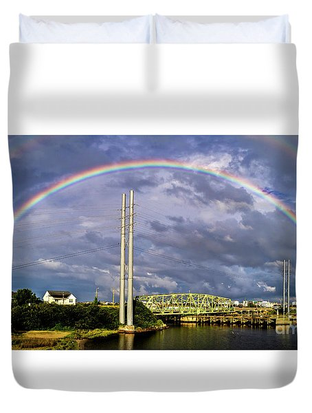 Bridge Of Hope Duvet Cover