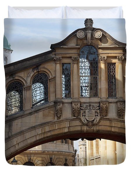 Bridge Of Sighs Oxford Duvet Cover