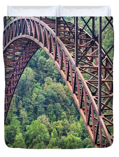 Bridge Of Trees Duvet Cover
