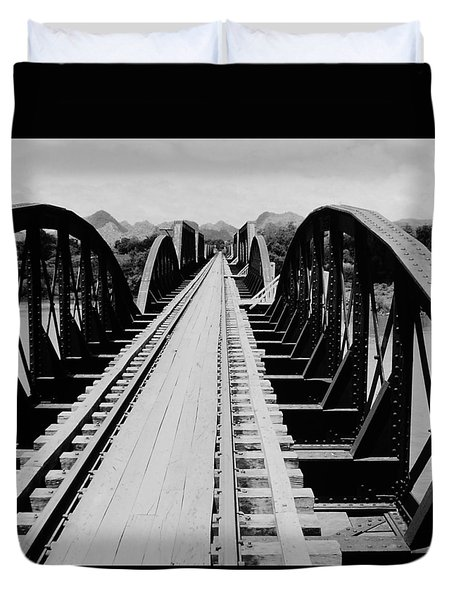 Bridge On The River Kwai Duvet Cover