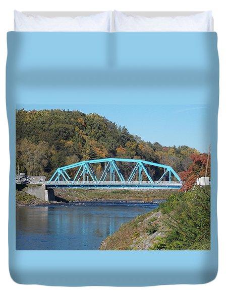Bridge Over Rondout Creek 2 Duvet Cover
