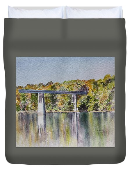 Bridge Over The Cumberland Duvet Cover