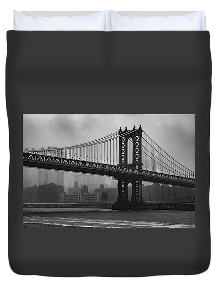 Bridge Over Troubled Water Duvet Cover