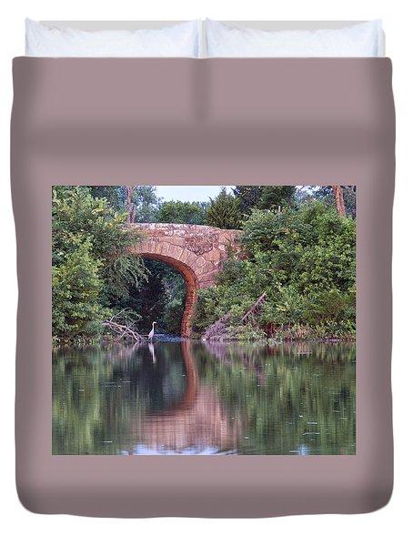Bridge Reflections Duvet Cover