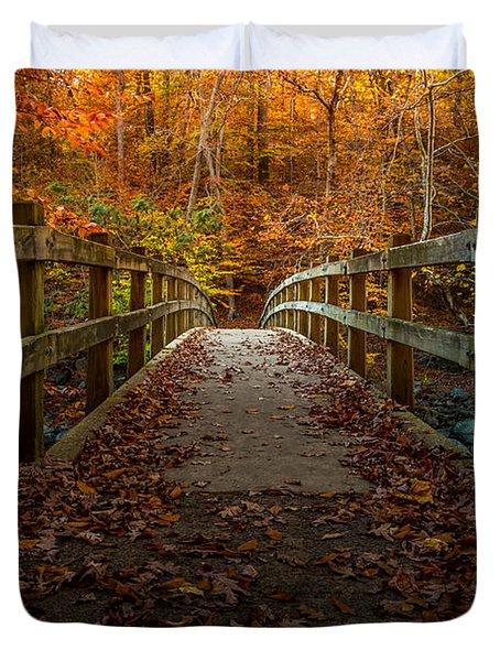 Bridge To Enlightenment 2 Duvet Cover