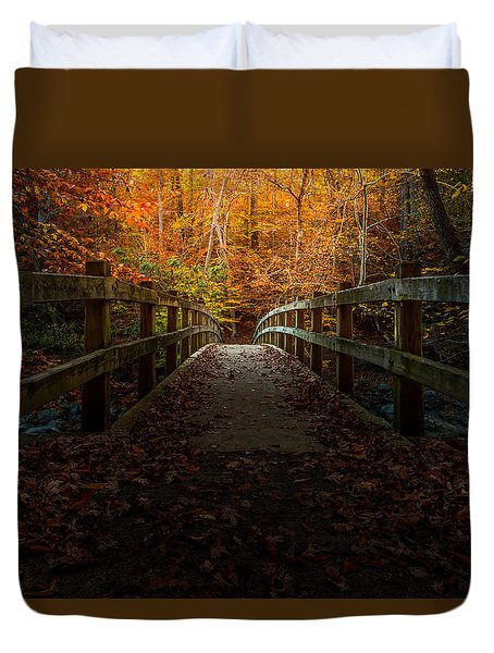 Bridge To Enlightenment Duvet Cover