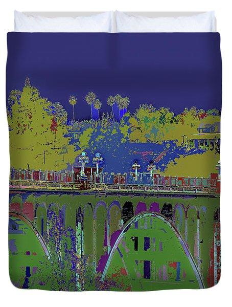 Bridge To Life Duvet Cover