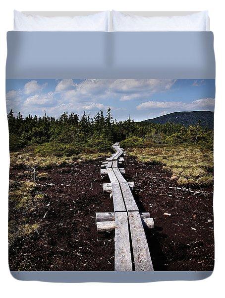 Bridge To Mizpah Duvet Cover