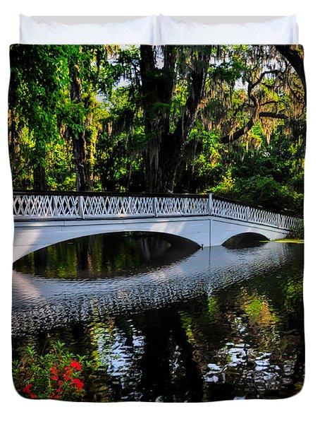 Bridge To Spring Duvet Cover