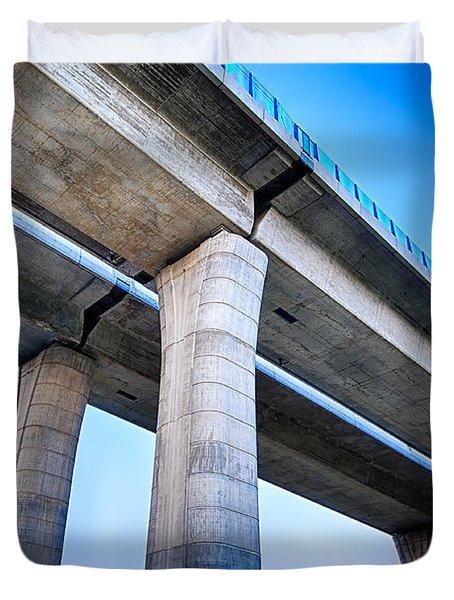 Bridge To The Heaven Duvet Cover