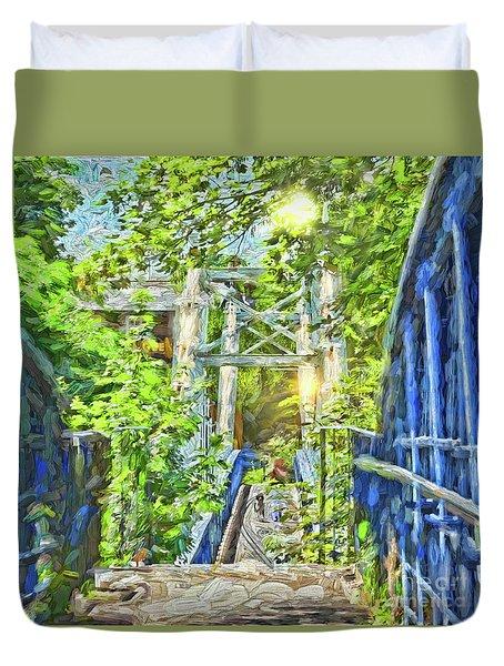 Bridge To Your Dreams Duvet Cover
