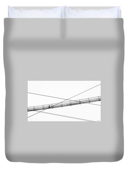 Bridge Walker Duvet Cover