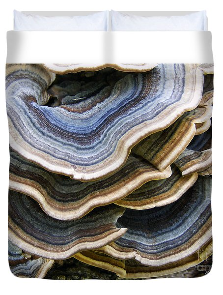 Bridgeport Mushrooms Duvet Cover