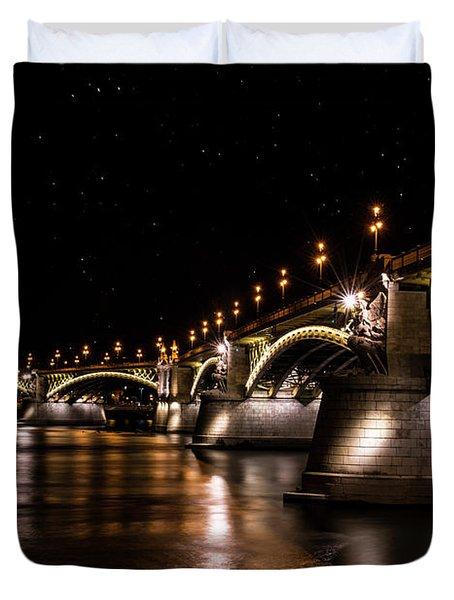 Bridges Of Budapest Duvet Cover