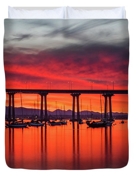 Bridgescape Duvet Cover